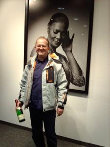 Stephan Rausch mit seinem Preis